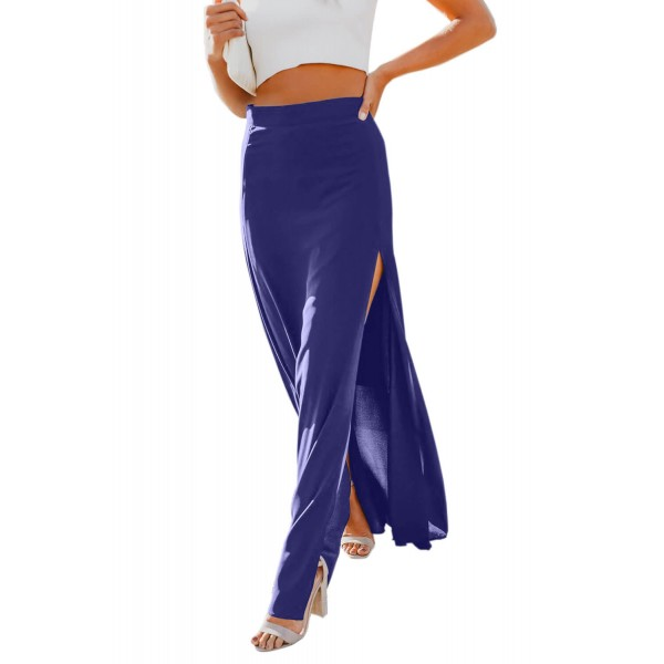 Blue Drop Dead Gorgeous Maxi Skirt
