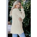 Apricot Chill in The Air Sweater